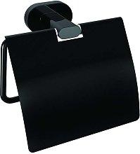 Porta carta igienica colore nero linea nico-b10