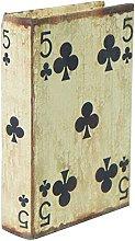 Porta Carte da Gioco - Scatola in Legno -