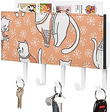 Porta chiavi e posta per parete – organizer per