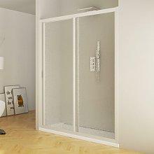 Porta Doccia 100 Cm 1 Anta Scorrevole In Acrilico