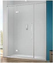 Porta doccia 100 cm battente trasparente serie b2f