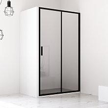 Porta doccia 100 cm nicchia apertura scorrevole