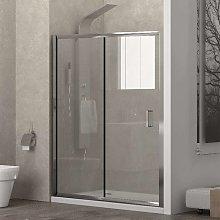 Porta doccia 110cm con anta scorrevole altezza