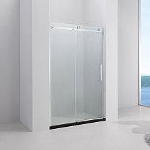 Porta doccia 140 cm cabina nicchia apertura