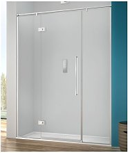 Porta doccia 150 cm battente trasparente serie b2f
