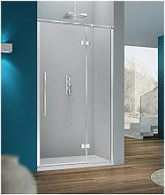 Porta doccia 80 cm battente trasparente serie