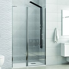 Porta doccia 95cm battente con fisso kpx4000