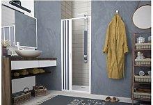 Porta doccia a pacchetto pieghevole laterale pvc