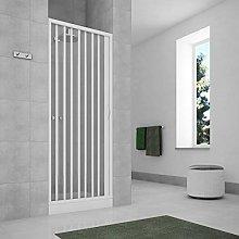 Porta doccia a soffietto per box doccia nicchia