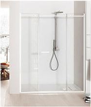 Porta doccia battente 190 cm trasparente serie