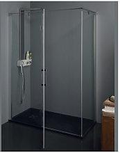 Porta doccia battente angolare anticalcare TPB72
