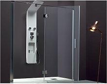 Porta doccia battente per nicchia anticalcare