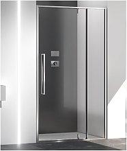 Porta doccia battente pivot 160 cm trasparente zen