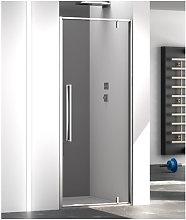 Porta doccia battente pivot 90 cm trasparente zen