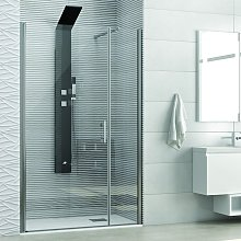 Porta doccia nicchia 90cm apertura battente ks5000