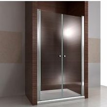 Porta doccia nicchia con 2 ante per soluzioni in