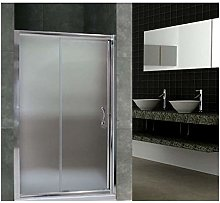 Porta doccia scorrevole nicchia cristallo 6mm