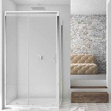 Porta doccia scorrevole per nicchia da 120 cm