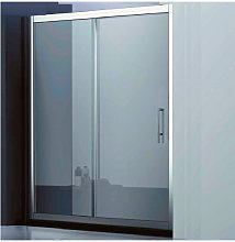 Porta doccia scorrevole Roma cm 100+ lato fisso