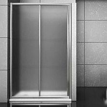 Porta doccia scorrevole slide per box nicchia due