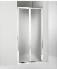 Porta doccia soffietto 105 cm opaco
