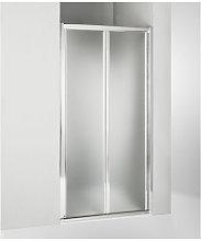 Porta doccia soffietto 110 cm opaco