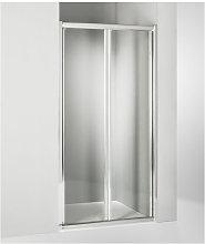 Porta doccia soffietto 110 cm trasparente