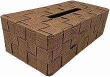 Porta fazzoletti veline in tessuto scatola per