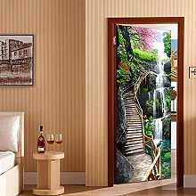Porta Murale Carta Pvc Adesivo per porta