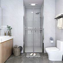 Porta per Doccia in ESG Trasparente 96x190 cm