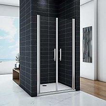 Porta Per Nicchia box doccia 110x195 cm 2 Ante