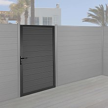 Porta per recinzione pannelli frangivento