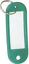 Portachiavi porta tag verde