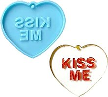 Portachiavi Stampi Per Colata Di Resina, Kiss Me