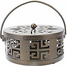 Portaincenso in metallo orientale | Porta-bobina