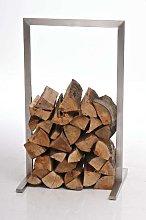 Portalegna legnaia per camino CP326 acciaio inox