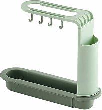 Portaoggetti retrattile per lavello, Portaspugna