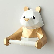 Portarotolo adesivo Resina Panda Figurina Fissato