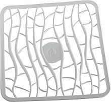 Pos Design Fluid Tappeto Lavello, Ghiaccio, 28,5x32