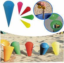 Posacenere da spiaggia conico tascabile