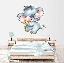 poster Adesivi Adesivo murale elefante carino