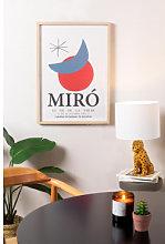 Poster decorativo (50x70 cm) Miro Multicolore