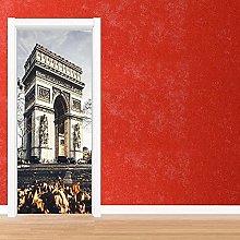 Poster Per Porte 3D Adesivo Per Porta 3D