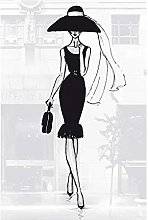 Poster Stampa in Alta qualità Figura Femminile