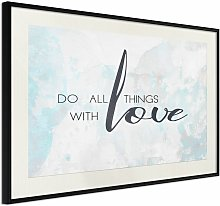 Poster With Love cm 60x40 Artgeist