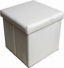Pouf contenitore richiudibile in ecopelle B