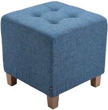 Pouf divano blu