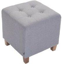Pouf divano grigio chiaro