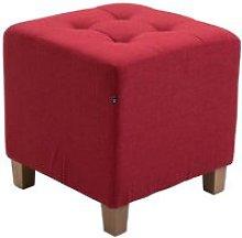 Pouf divano rosso