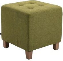 Pouf divano verde